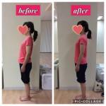 【お客様のトレーニング報告】姿勢が良くなり身体も柔らかくなりました!